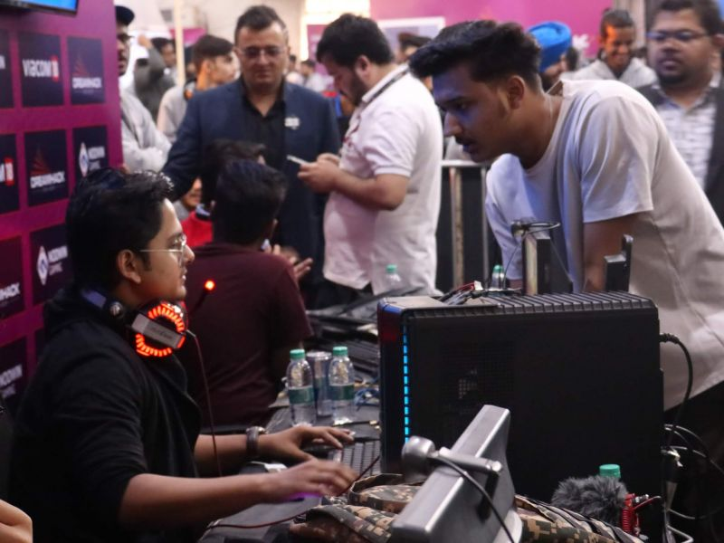 Popular Pubg mobile personalities played with their fans at PAN Fest.