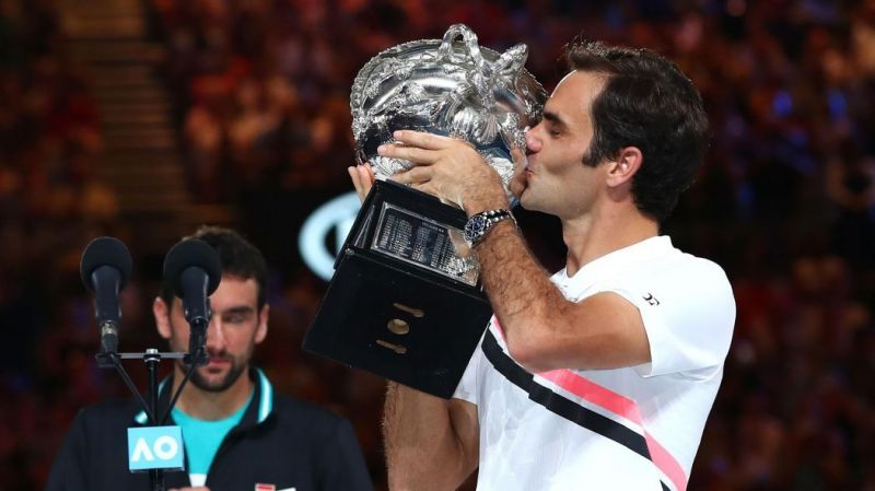 Federer won his most recent Grand Slam title at the 2018 Australian Open