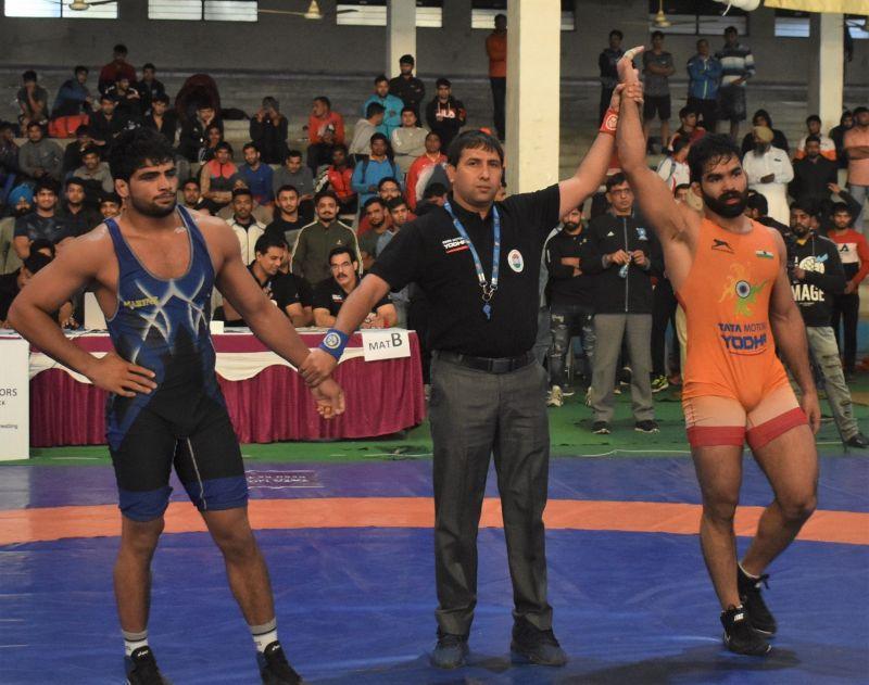 Gurpreet defeat Sajan Bhanjwal