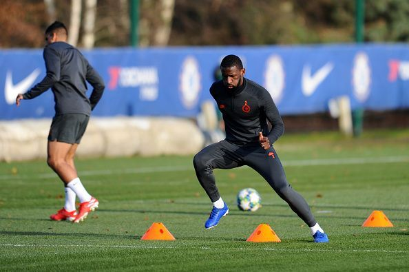 Antonio Rudiger has handed Frank Lampard a huge boost ahead of the home clash against Lille
