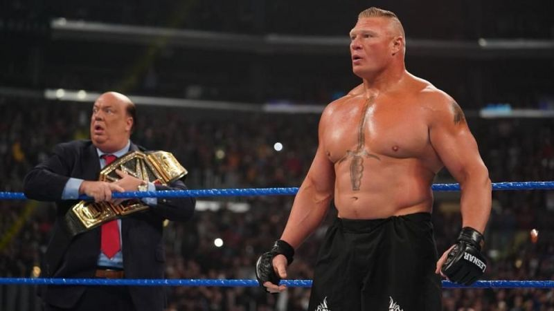 What are Brock Lesnar and his mouthpiece Paul Heyman so terrified? Why, one of our unforgettable moments from 2019, of course!