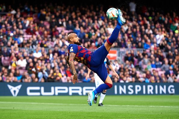 Arturo Vidal could reportedly leave Barcelona in January