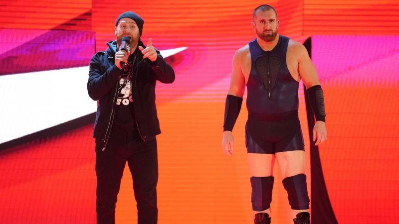 Sami Zayn and Mojo Rawley