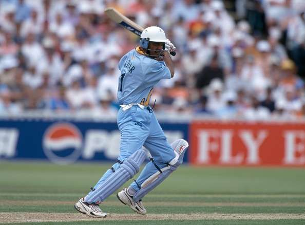 Mohammad Azharuddin at the 1999 World Cup in England