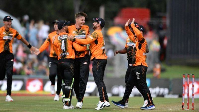 Nelson Mandela Bay Giants make it to the top of the MSL 2019 standings with the win over Blitz