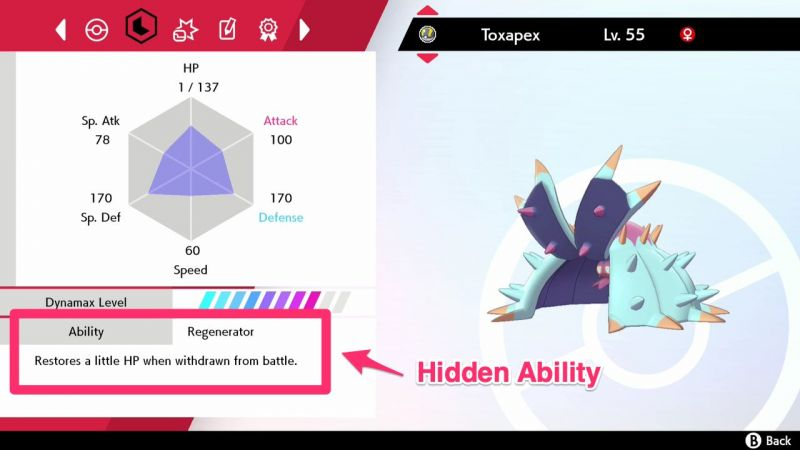 Image result for hidden ability pokemon sword and shield