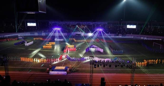 India opened their tally on the overall medal count at the South Asian Games 2019