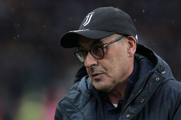 Sarri is under a bit of pressure after recent results.