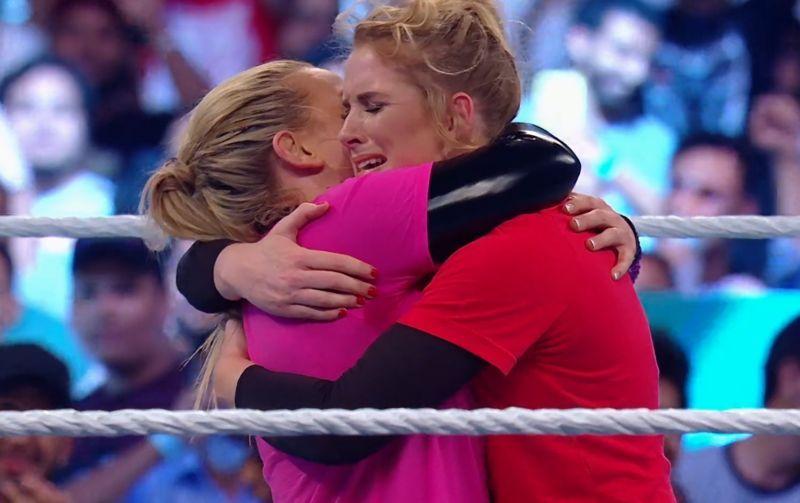 Natalya vs Lacey Evans at Crown Jewel