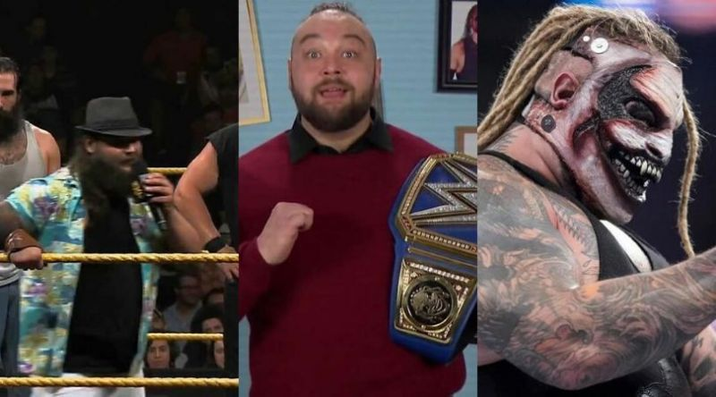 Some of the personas portrayed by Bray Wyatt on screen