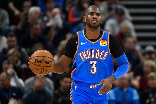 Chris Paul has been linked with teams such as the Miami Heat and Dallas Mavericks