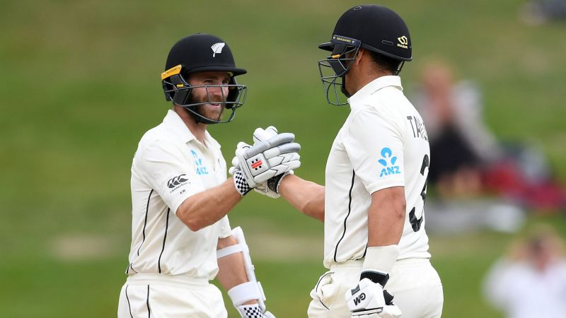 New Zealand stars Kane Williamson and Ross Taylor