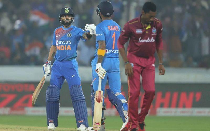 भारत vs वेस्टइंडीज (Photo-Bcci)