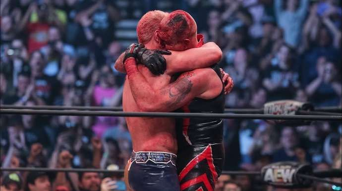It was the most emotional match at one of the best pay-per-views.