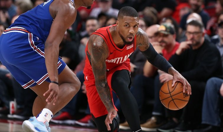 Damian Lillard scored 31 points in 29 minutes in Portland