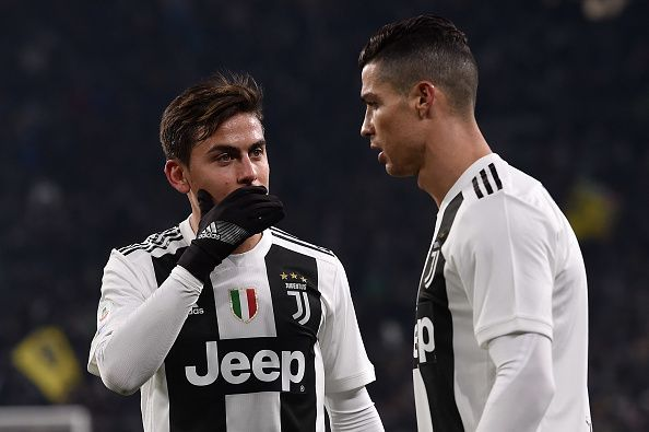 Cristiano Ronaldo, Paulo Dybala and Gonzalo Higuaín have never started a game together for Juventus