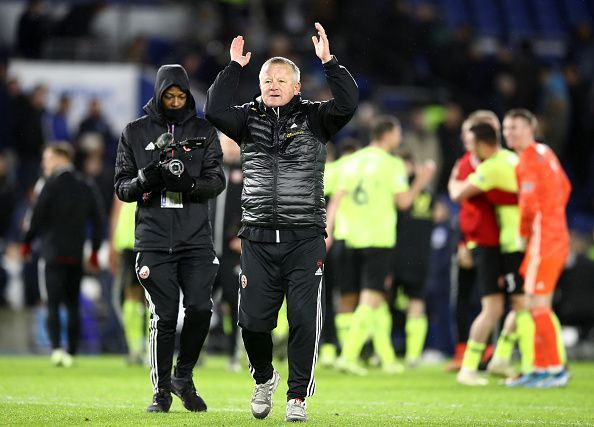 Chris Wilder has Sheffield punching above their weight