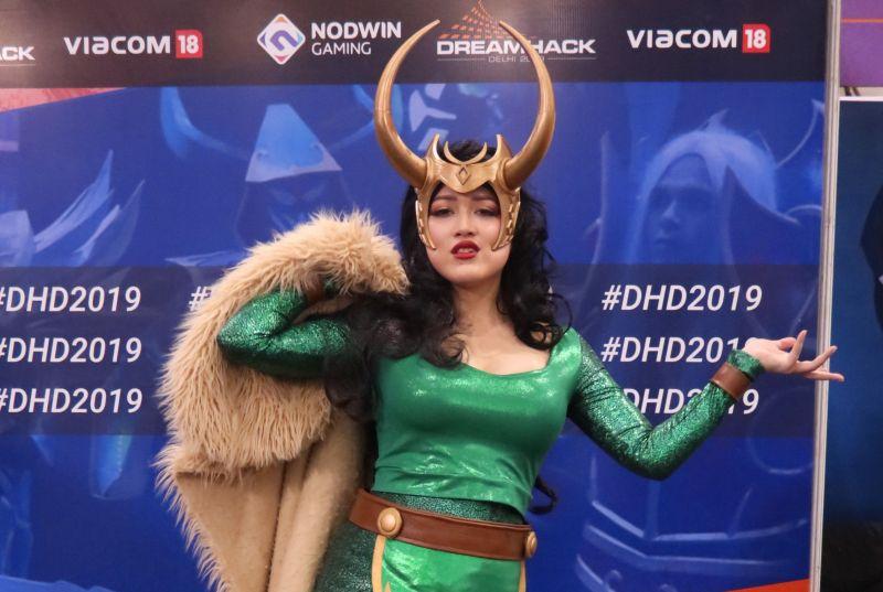 Alysesca at DreamHack Delhi 2019