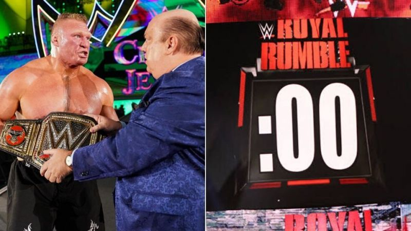 Brock Lesnar looks set for a disappointing rematch at the Royal Rumble