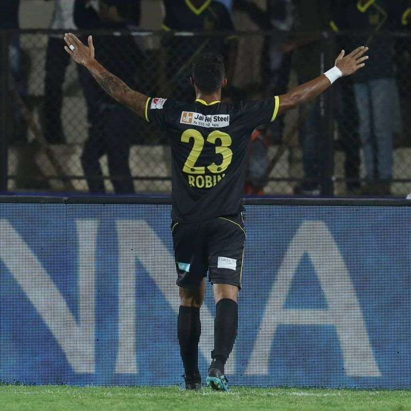 Robin Singh scored the equaliser in Hyderabad