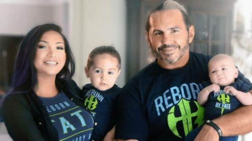 Matt and Reby Hardy with Maxel and Wolfgang