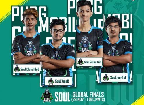 SouL in PMCO Fall Split Global Finals 2019.