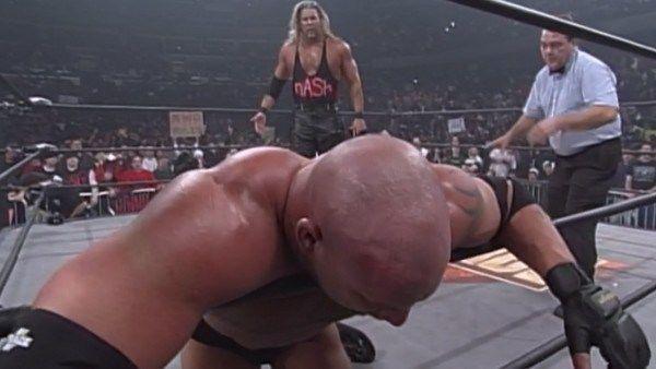 Goldberg lost to Kevin Nash