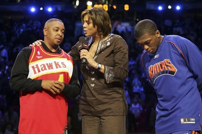 Spud Webb (L) and Nate Robinson(R): The shortest players to have won a dunk contest