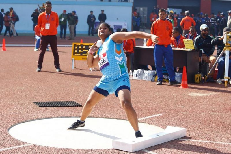 Athletics event - South Asian Games 2019
