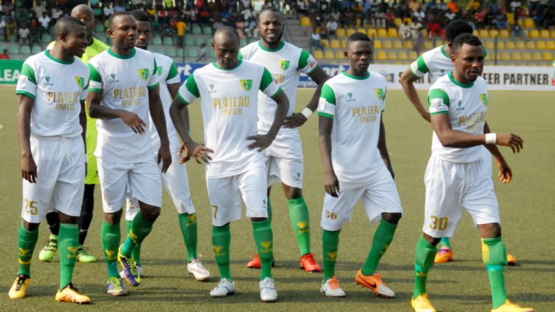 Plateau United have been in top form this season as they sit top of the table.