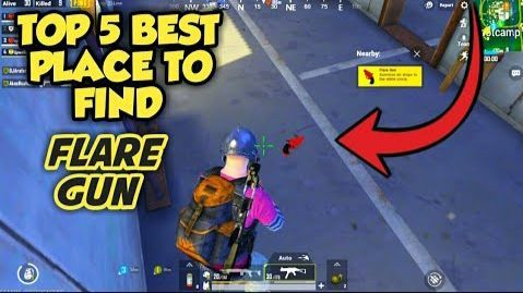 Best places to find Flare Gun