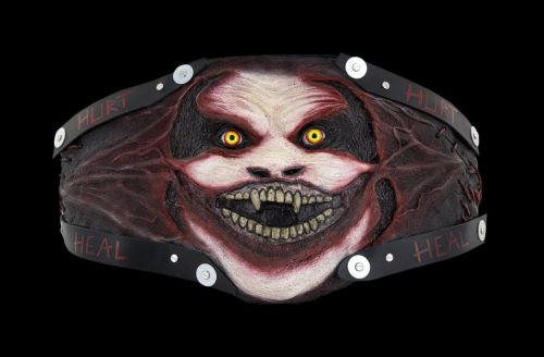 The Fiend's customized Universal Championship belt