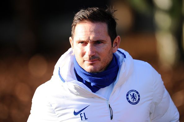 Frank Lampard has guided a young Chelsea side into the top four.
