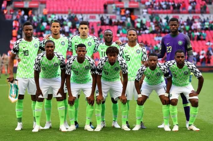 Super Eagles Russia 2018 Team