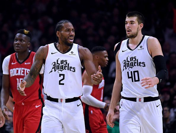 Kawhi has settled quickly with the Los Angeles Clippers, who are among this season