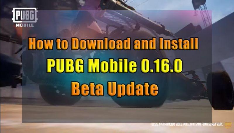 PUBG Mobile 0.16.0 Update