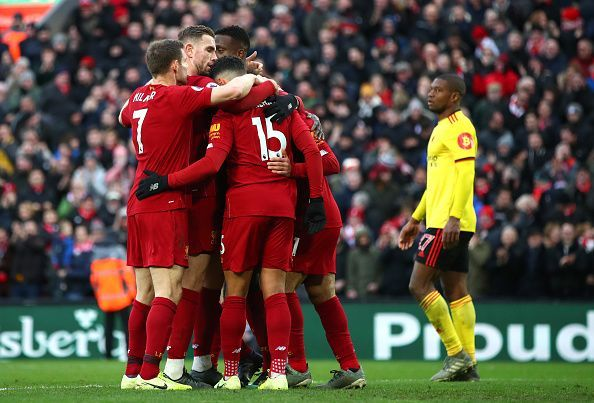 Liverpool see off a resilient Watford at home