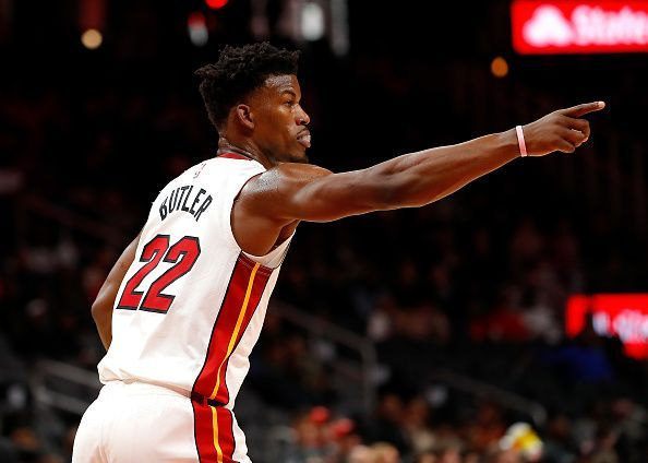 Jimmy Butler has made an excellent start to life in Miami