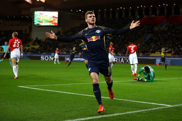 Timo Werner is reportedly a top transfer target for Chelsea
