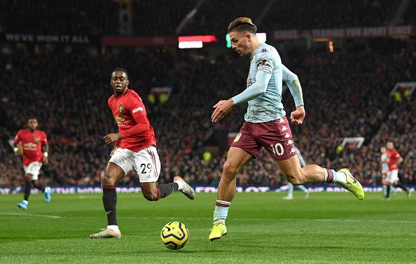 Grealish tormented Manchester United