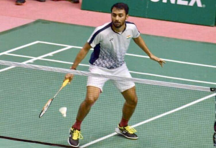 Sourabh Verma in action (PC: Twitter)