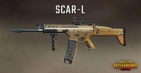 SCAR-L in PUBG Mobile