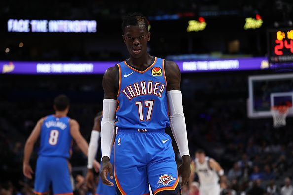Dennis Schroder has made a solid contribution from the OKC bench