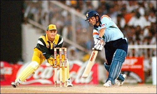 Sachin Tendulkar scored a whopping 1894 runs in ODI cricket in the year 1998