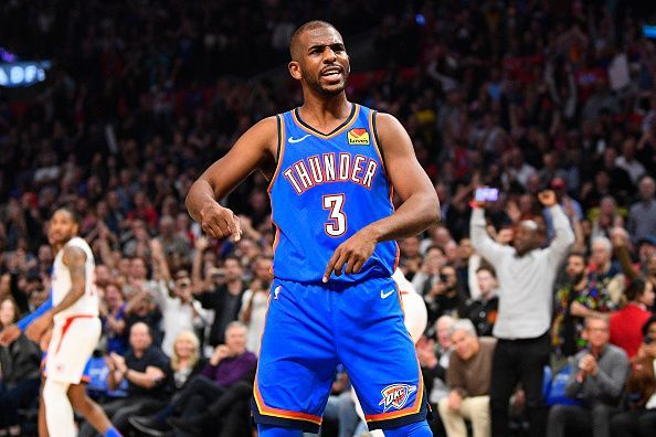 Chris Paul is averaging a career-low 15.1 points per game this season