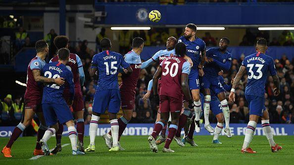 Giroud failed to make his mark