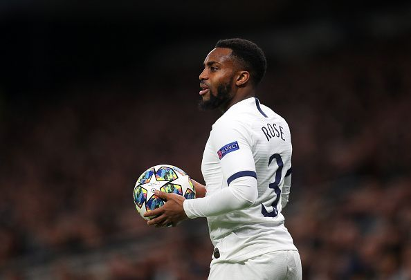 Danny Rose appears to be on his way out at Tottenham