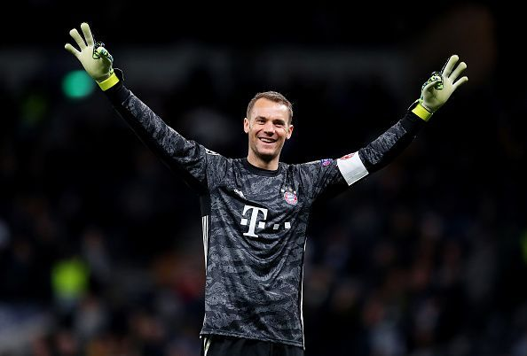 Manuel Neuer remains one of the world