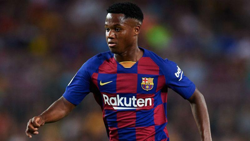 Barcelona talent Ansu Fati