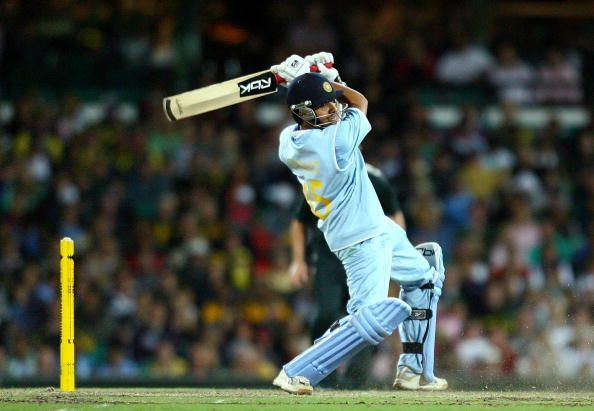Rohit Sharma played useful knocks in the CB series in Australia early in his career